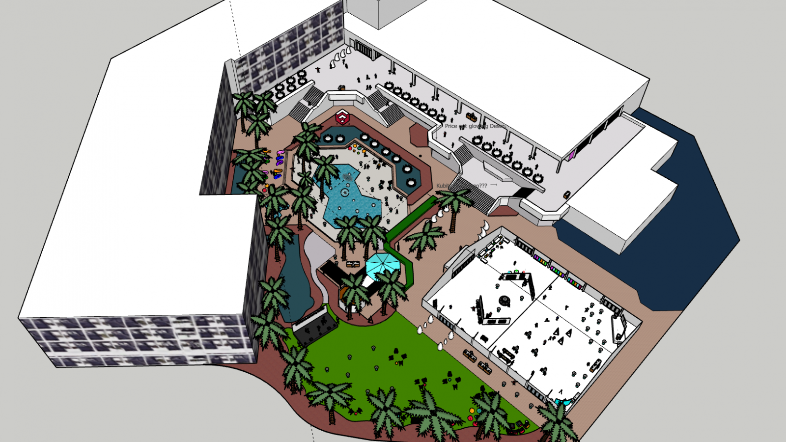 Sketchup_model_desert_glow_party