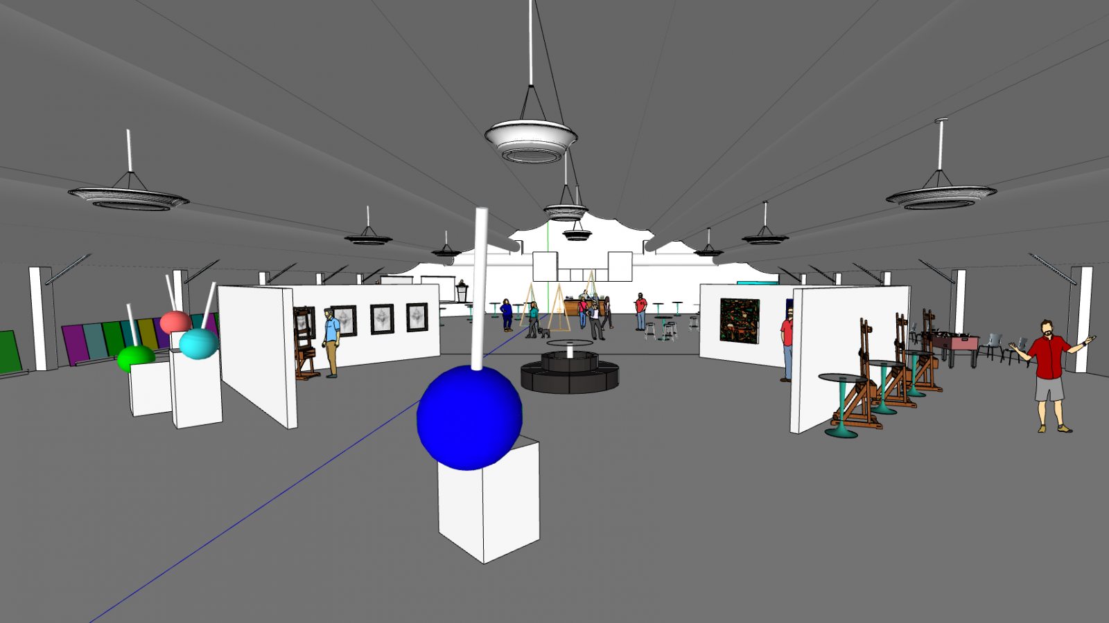 Sketchup_Model_inside_Desert_Tent