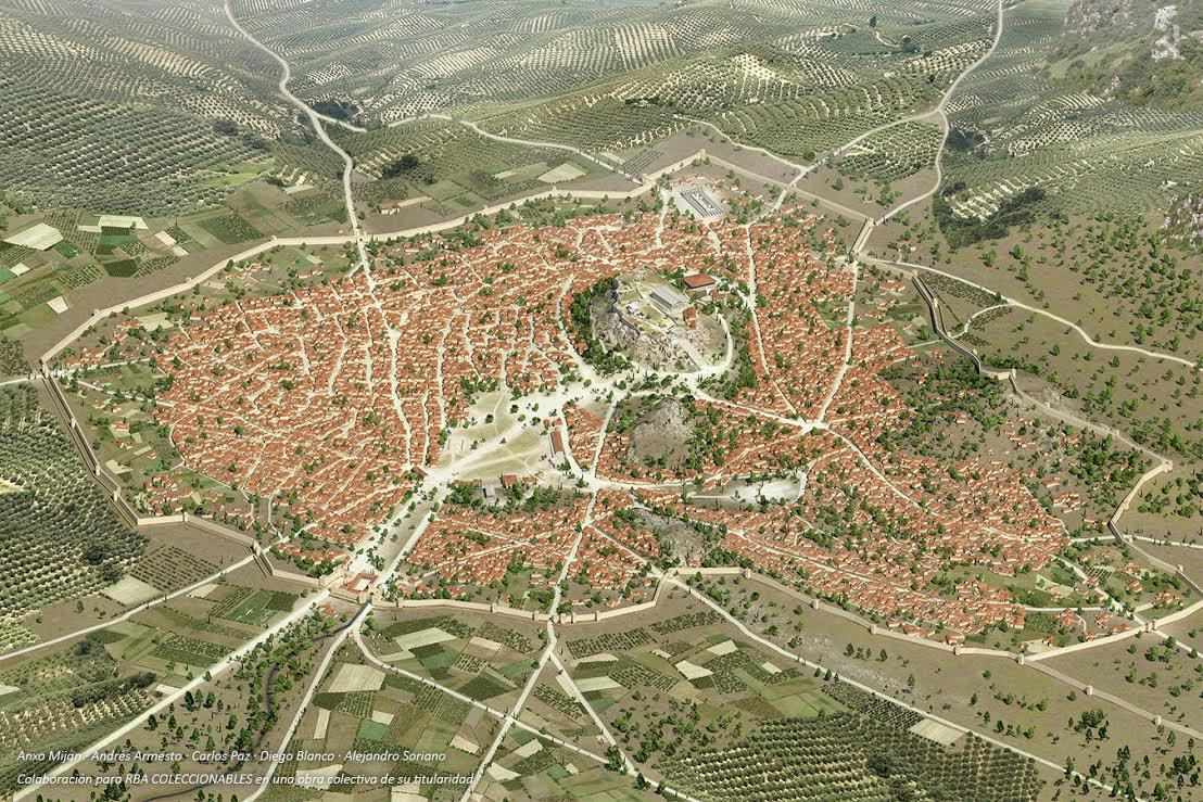 city of Athens in 430 BC