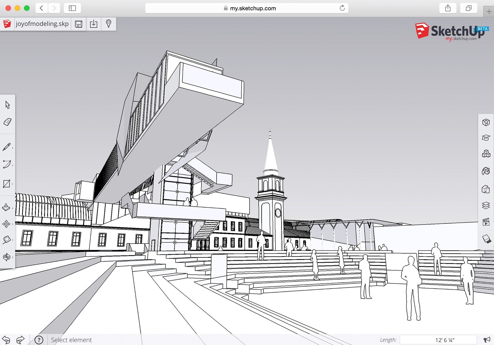 Line Art Software : Sketchup pro new in