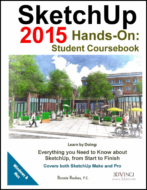 SketchUp 2015 Hands-On: Student Coursebook