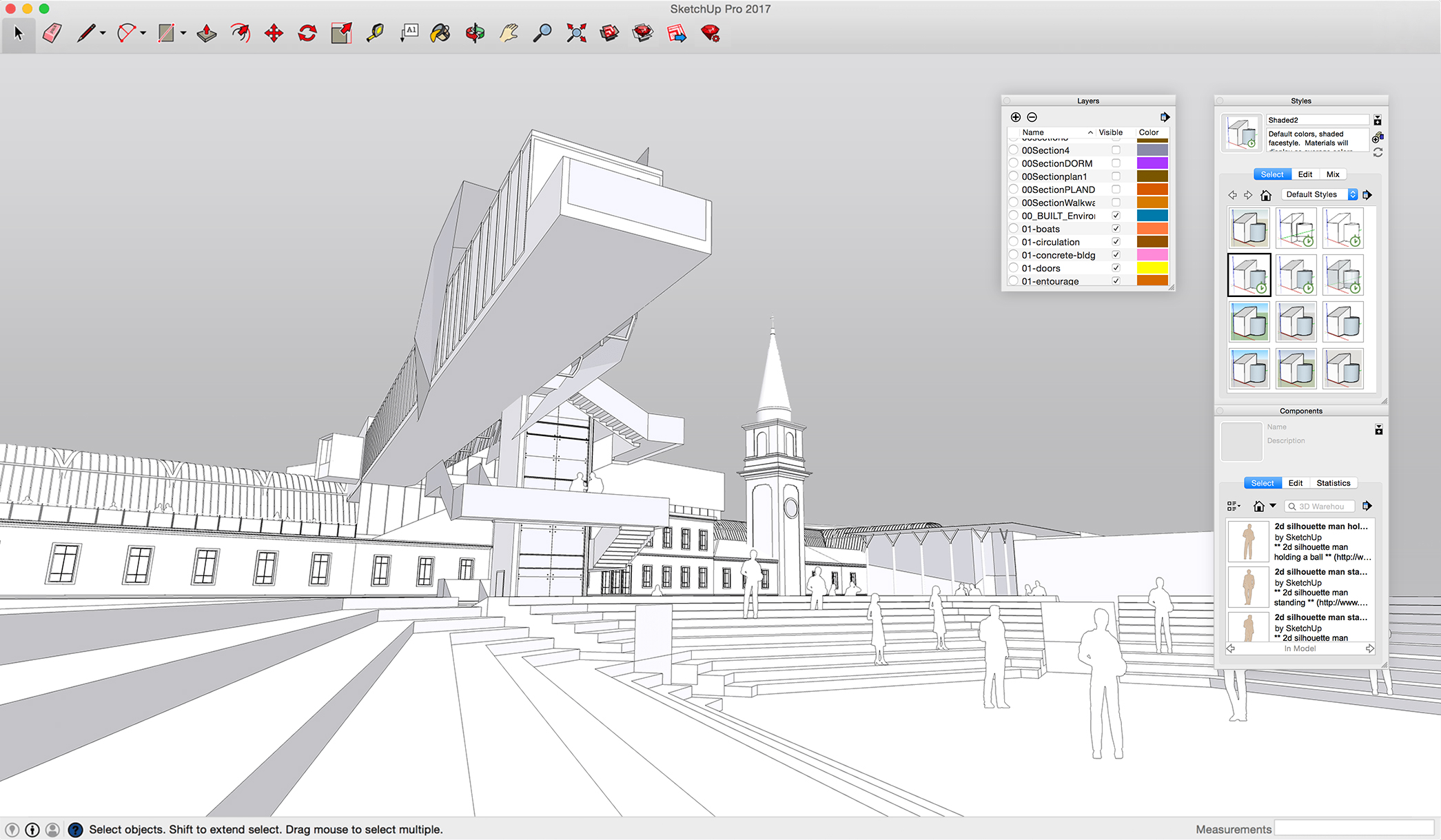 Architectural Design Extentions For Sketchup