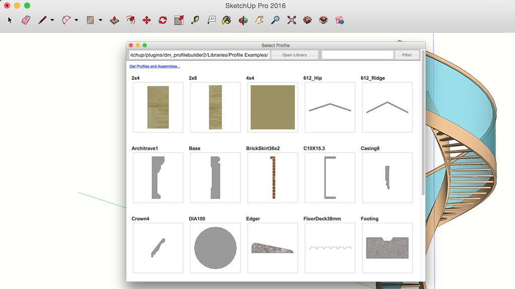 3d modeling for everyone sketchup for Arredi archicad