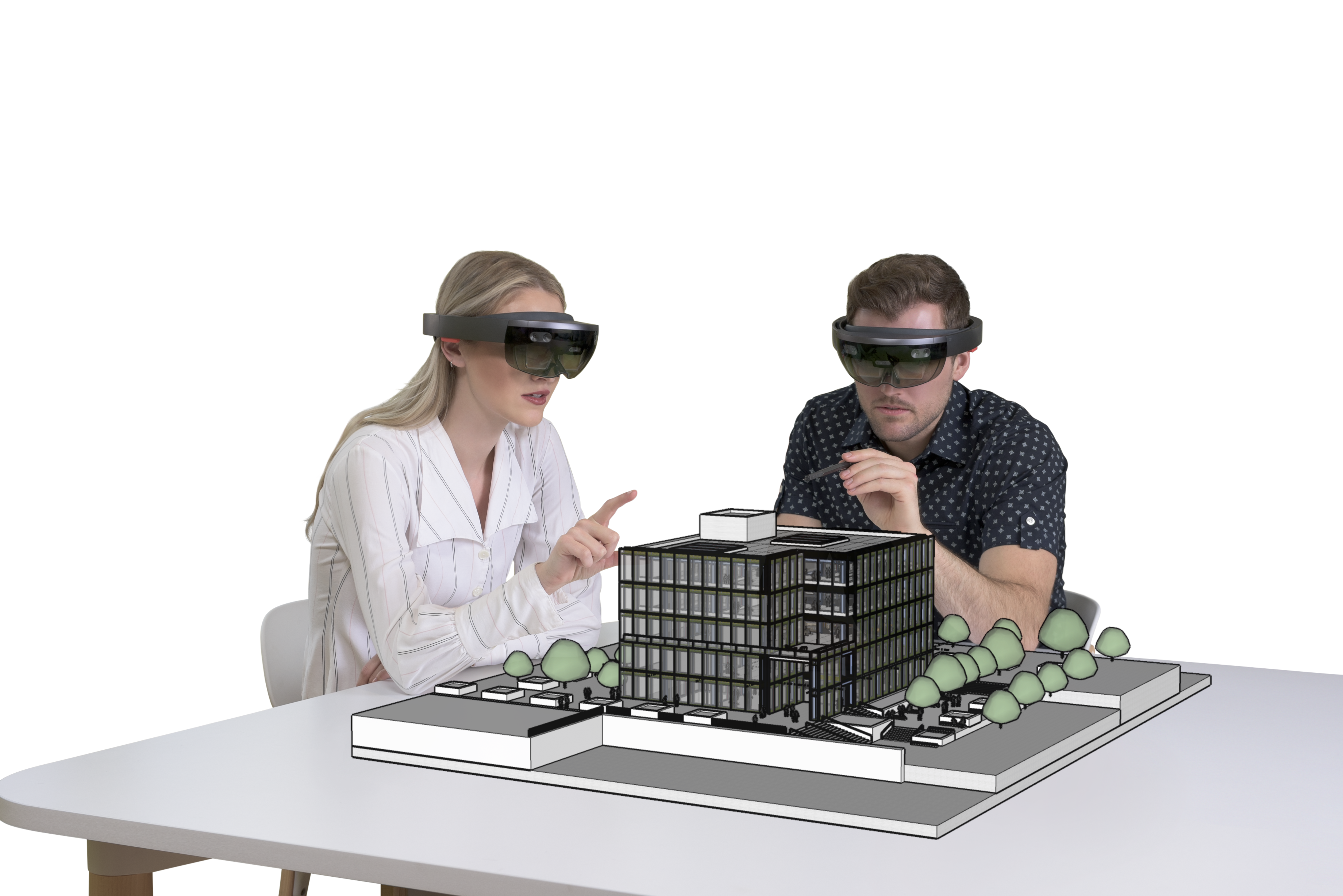 Landscape architecture in mixed reality