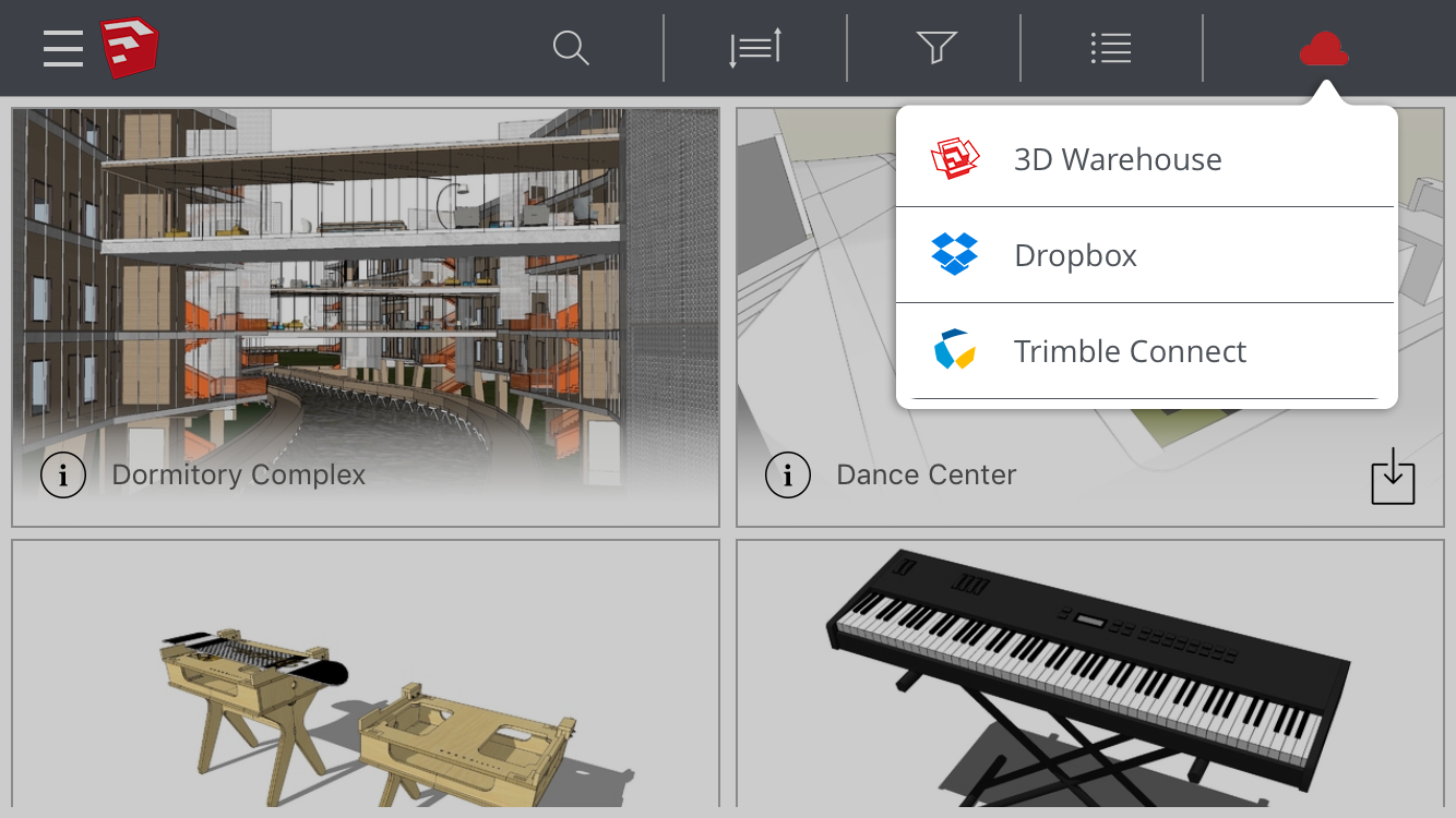 Sketchup viewer calls up dimensions from your sketchup model and allows you to take measurements on the fly